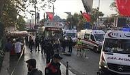 Beşiktaş'ta Otobüs Durağına Dalan Şoför Önce Bıçakla Saldırdı Sonra da Denize Atladı: 1 Ölü, 12 Yaralı