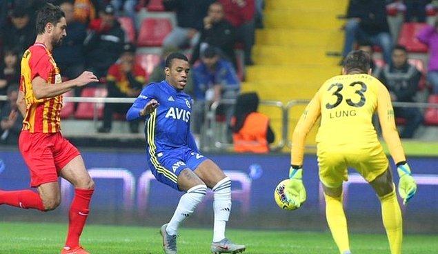 Süper Lig'de 10. hafta karşılaşmalarında İstikbal Mobilya Kayserispor'a konuk olan Fenerbahçe, rakibine 1-0'lık skorla boyun eğdi.