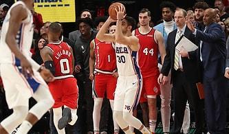 Philadelphia 76ers Forması Giyen Furkan Korkmaz'dan Maç Kazandıran Üçlük!