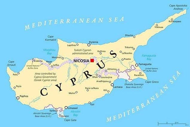 1914 - Kıbrıs'ın yönetimi, Osmanlı İmparatorluğu'ndan Birleşik Krallık'a geçti.