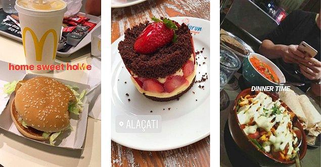 4. Eğer yürüyen bir yemek sayfası değilseniz hikayelerinizde sürekli yemek fotoğrafı paylaşmak hoş bir şey değil.