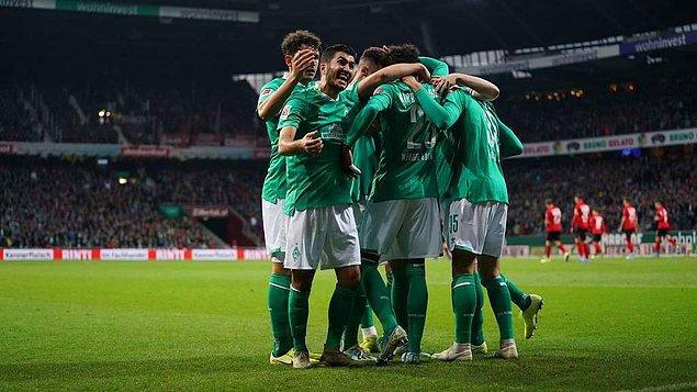 Almanya Ligi'nde 10. hafta maçında Werder Bremen ile Freiburg karşı karşıya geldi ve maç 2-2 sonuçlandı. Bremen'de Ömer Toprak 90 dakika sahada kalırken, Nuri Şahin 68. dakikada oyundan çıkarıldı.