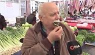 Zehirlenmeler Tekirdağ'a Sıçradı: Pazar Esnafı Kameralar Önünde Çiğ Ispanak Yedi