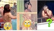 Kendi Hallerinde Takılırlarken Paparazzilerin Anadan Üryan Çıplak Görüntülediği Bahtsız Ünlüler