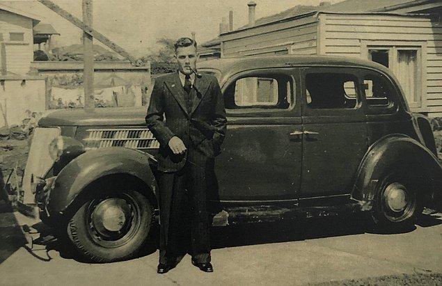 """28. """"Büyükbabam 1930'ların sonlarında, Yeni Zelanda'da."""""""