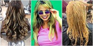 Böylesi Düşman Başına: Instagram'da Gördüğümüz Mükemmel Saçların Tam Aksini Gösteren Gerçekçi Hesap