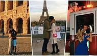 Romantikmiş Gibi Çek! Gittiği Ülkelerde Mükemmel Bir Fotoğraf Paylaşmak İçin Hiç Tanımadığı İnsanlarla Öpüşen Kadın