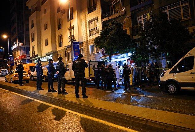 Olay, Molla Gürani Mahallesi Oğuzhan Caddesi'nde bulunan bir binanın birinci katında yaşandı.