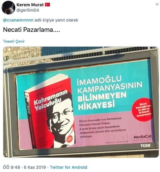 Kaftancıoğlu'nun çıkışının ardından, konuyla ilgili yorumlar da gecikmedi...