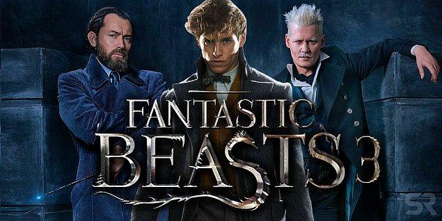 11. Fantastic Beasts 3'nin çekimleri 2020'nin baharına ertelendi. Filmin yazarlığını JK Rowling yapacak, çekimler Brezilya'da gerçekleşecek.