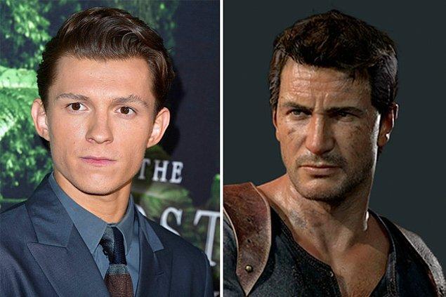 10. Tom Holland'ın başrolde bulunduğu Uncharted filminin çekimleri Şubat 2020'de başlayacak.