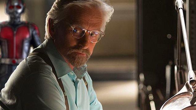 4. Michael Douglas, Ant-Man 3'ye Hank Pym olarak dönecek!
