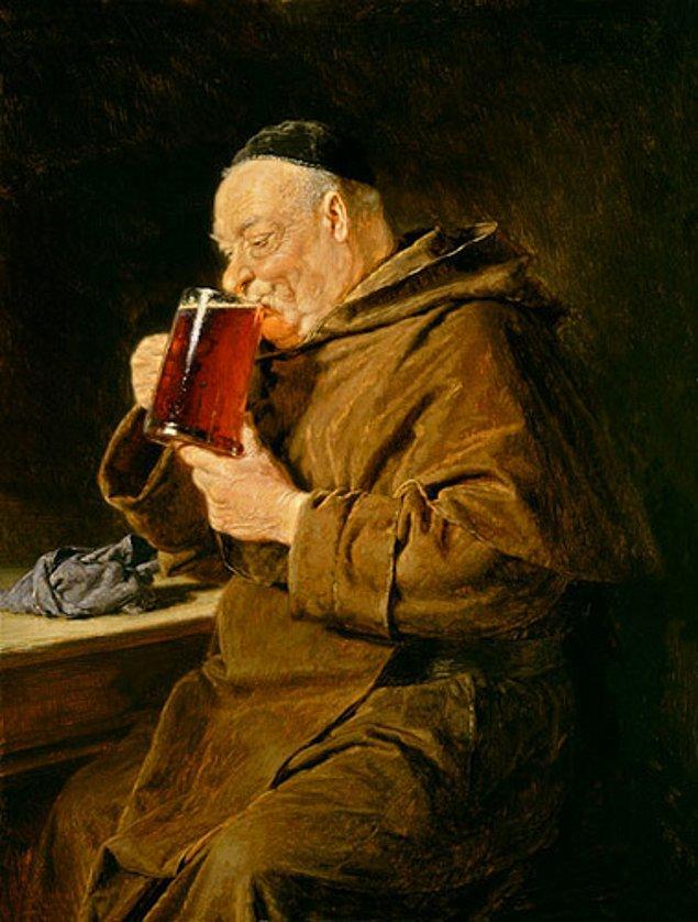 4. Paulaner Keşişleri tarafından üretilen doppelbock birası içerik bakımından o kadar zengindi ki keşişler 46 gün süren oruç dönemleri için 'sıvı ekmek' amacıyla onu tüketiyorlardı.