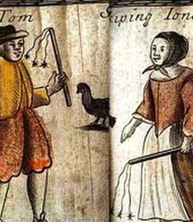 5. 1681 Londra'sında 'Kırbaçcı Tom' adında bir adam sokak kenarlarında saklanıp yoldan geçen kadınları beklenmedik bir şekilde popolarından kırbaçlıyor ve 'spanko' diye bağırıyordu.