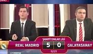 Real Madrid Maçını Anlatan Galatasaray TV Spikeri: '5'e Razıydık'