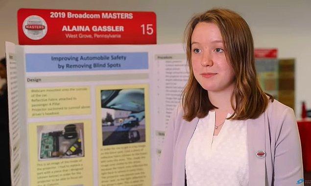 Bu sorunu çözmek adına henüz 14 yaşındaki Alaina Gassler, bu soruna oldukça yaratıcı bir çözüm icat etti.