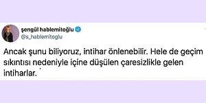 Akademisyen Şengül Hablemitoğlu'ndan Son Zamanlarda Gelen İntihar Haberleriyle İlgili Okunması Gereken Bir Yazı
