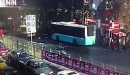 Durağa Dalmıştı:  Beşiktaş'taki Otobüs Dehşetinin Görüntüleri Ortaya Çıktı