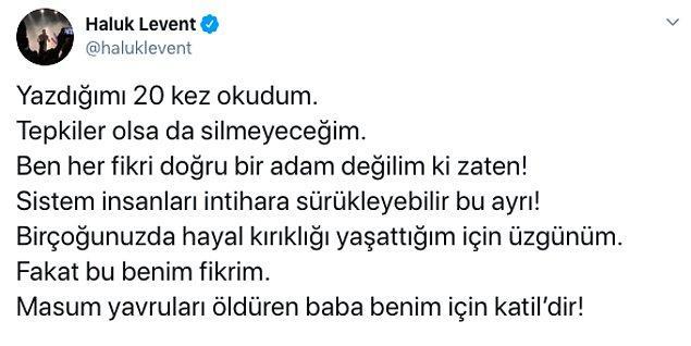 Ve baba Selim Şimşek'in çocuklarının yaşam haklarını ellerinden aldığını ifade etti.