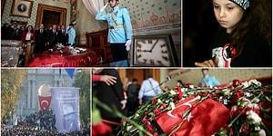 Kadın Erkek Genç Yaşlı... Ulu Önder'i Anmak İsteyenlerden Dolmabahçe'ye Rekor Ziyaret