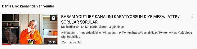 """İşte o olaylardan biriyle karşınızdayız! Danla Bilic, geçtiğimiz hafta YouTube kanalında kendisi hakkında sorulan soruları cevapladığı bir video yayınlamıştı. Takipçilerinden gelen sorulardan biri de """"Hayatında kendini en rezil hissettiğin an nedir?"""" şeklindeydi."""