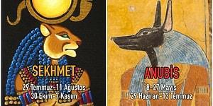 Mısır Mitolojisine Göre Karakterinizi Harfi Harfine Özetleyen Burcunuzu Öğrenmek İster misiniz?