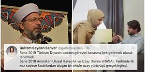 Kadının Toplumdaki Görevinin Erkeğine Hizmet Etmek Olduğunu İma Eden Diyanet İşleri Başkanı Ali Erbaş'a Gelen Tepkiler