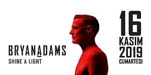 Efsane Rock Yıldızı Bryan Adams ile Unutulmaz Bir Geceye Hazır mısınız?