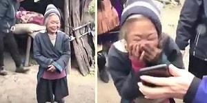 Hayatında İlk Defa Fotoğraf Çektiren Kadının Ekranda Kendini Gördüğü Anda Verdiği Efsane Tepki!