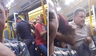 Durağa Yanaşan Metrobüse Hücum Eden Kalabalığı Gösteren Korkunç Görüntüler!