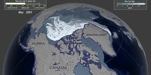 Bilim İnsanları Yayınladı: Dünya'nın Eriyen Son Buz Kütlesi!