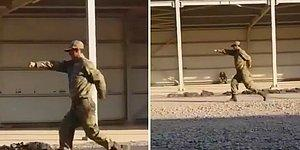 Çömez Askerin Uygun Adım Yürüyüşle İmtihanı!