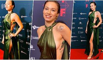 Buralar Alev Aldı! Melisa Şenolsun, 2. Hollywood Türk Filmleri Festivali'nde Giydiği Seksi Elbisesiyle Ortalığı Yakıp Geçti!