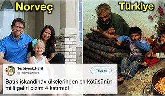 'Batık' Denilen İskandinav Ülkeleri ile Türkiye Arasındaki Acı Farkları Görünce Boğazınız Düğümlenecek