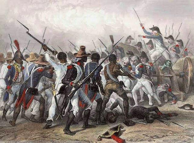 Darbe üstüne darbe! Paylaşılamayan verimli topraklarıyla tarih boyu büyük devletlerin arasında kalan Haiti, tarım ve konum avantajı yüzünden yaşamadığı zulüm kalmıyor.
