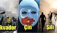 Dünyanın Her Bir Bölgesinde Adeta Çığ Gibi Büyüyen Protestolardan Görüntüler