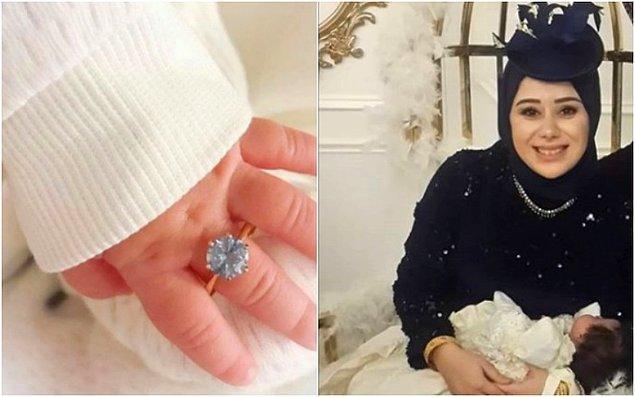 Sosyal medya günlerdir ünlü fenomen Büşra Nur Çalar Söylemez'in bebeği için yaptığı şatafatlı mevlit törenini konuşuyor biliyorsunuz.