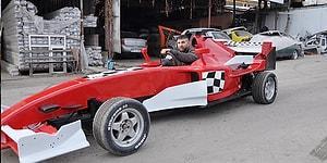 Çocukluğundan Beri Hayali Olan Formula 1 Aracını Kendisi Yapan Kaporta Ustası