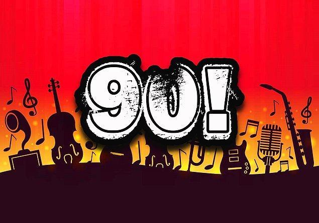 Müzik IQ'n 90 çıktı!