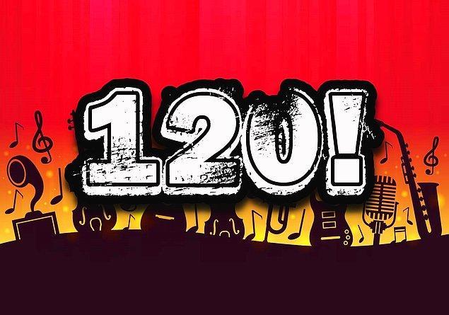 Müzik IQ'n 120 çıktı!