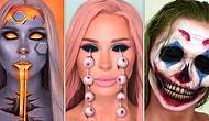 Sadece Makyaj Malzemeleri İle Seviyeyi Arşa Çıkaran Katie Butt'ın Bakmaya Yürek İsteyen Binbir Yüzü