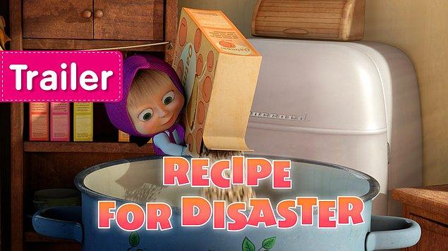 4. Masha and the Bear – Recipe for disaster (4.14 Milyar)