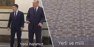 Erdoğan'ın 'Arkadaşlar Bu Halımız Yeni, Hereke, 108 Metrekare, Yerli ve Milli' Sözlerine Gelen Tepkiler!