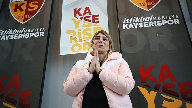 İstikbal Mobilya Kayserispor'da başkan danışmanı ve yönetim kurulu üyesi olarak görev yapan Berna Gözbaşı, Kayserispor Yönetim Kurulu'nun aldığı karar ile başkan seçildi.