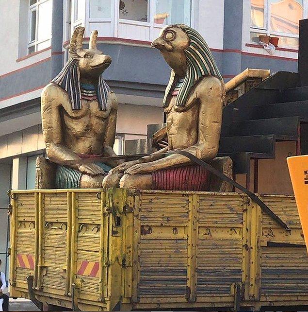 10. Ramses'in Beylikdüzüne yolculuğu.