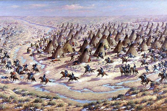 1864 - Sand Creek Katliamı gerçekleşti.