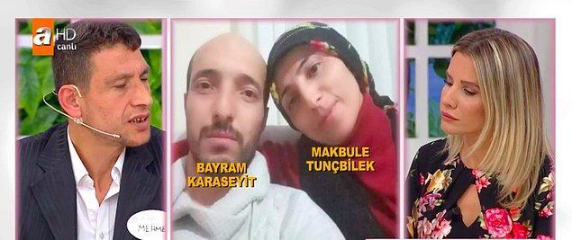 Mehmet, eşi başka birine kaçtığı için bunalıma girdiğini ve toparlanmakta güçlük çektiğini anlattı.