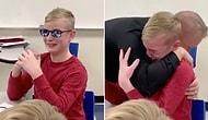 Renk Körlüğü Dersinde Öğretmeninin Getirdiği Gözlük ile İlk Defa Renkleri Doğru Gören Gencin Duygusal Anları!