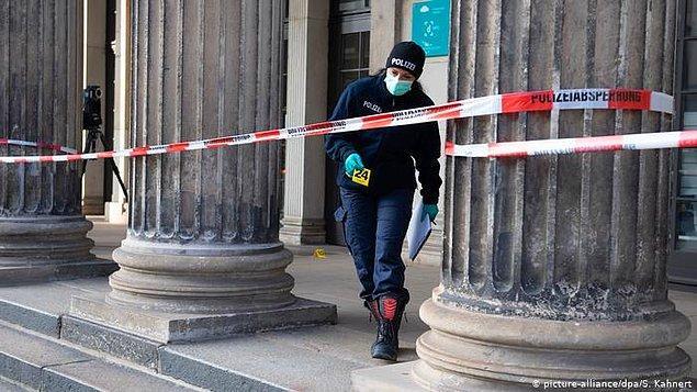 Hırsızların müzenin elektriğini sabote ettiği iddia edildi