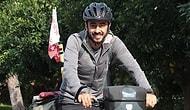 İsviçre'den Japonya'ya Bisikletle Gidiyor: Amacı Babasının Hastalığına Dikkat Çekmek